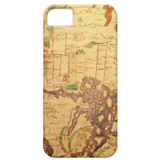 Anglo Saxon World Map iPhone SE/5/5s Case
