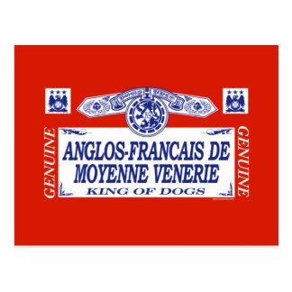 Anglos-Francais De Moyenne Venerie Postcard