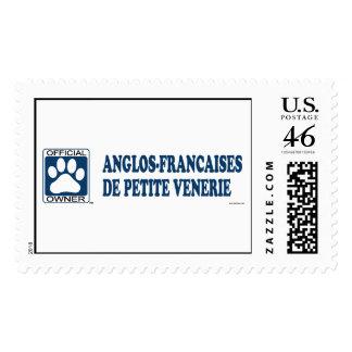 Anglos-Francaises De Petite Venerie Blue Postage Stamps