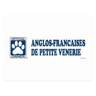 Anglos-Francaises De Petite Venerie Blue Postcard