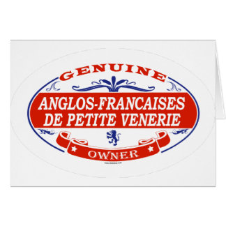 Anglos-Francaises De Petite Venerie Card