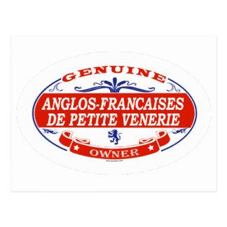 Anglos-Francaises De Petite Venerie Postcards