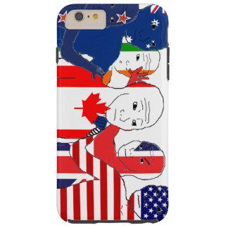 Anglosphere siente funda para iPhone 6 plus tough