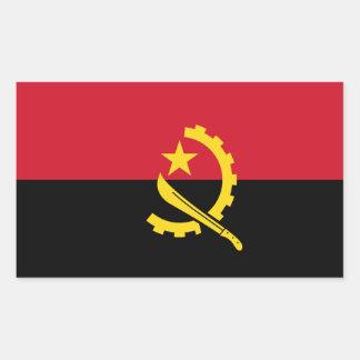 ANGOLA- Angola Flag Sticker