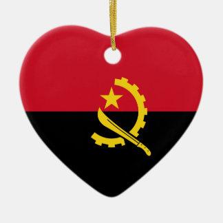 Angola - Angolan Flag Ceramic Ornament