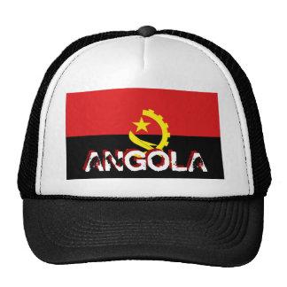 Angola angolan flag souvenir hat