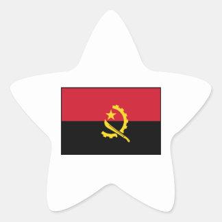 Angola - Angolan Flag Star Stickers
