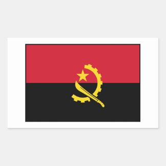 Angola - Angolan Flag Rectangle Stickers