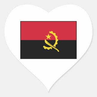Angola - Angolan Flag Stickers