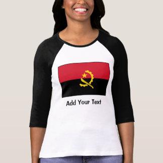 Angola - Angolan Flag Tee Shirt