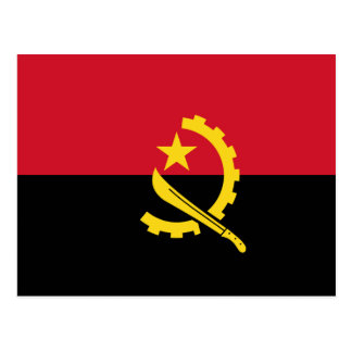 Angola - bandera angolana tarjetas postales