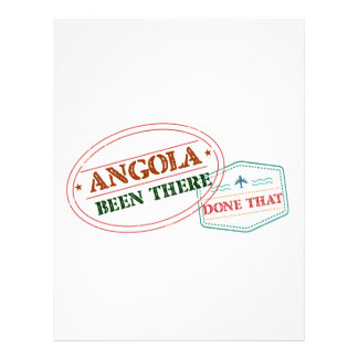 Angola Been There Done That Letterhead