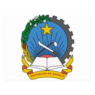Angola Coat of Arms Postcard