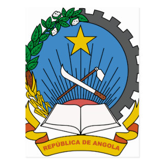 Angola Coat of Arms Postcards