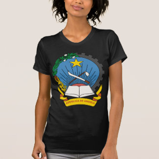 Angola Coat Of Arms Tee Shirts