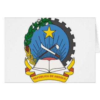 angola emblem card