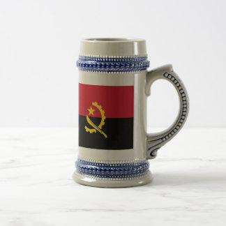 Angola Flag 18 Oz Beer Stein