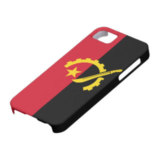 Angola Flag iPhone 5 Covers