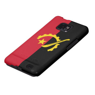 Angola Flag Galaxy SII Covers