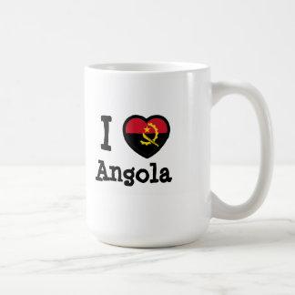 Angola Flag Classic White Coffee Mug