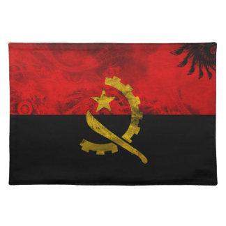 Angola Flag Cloth Placemat