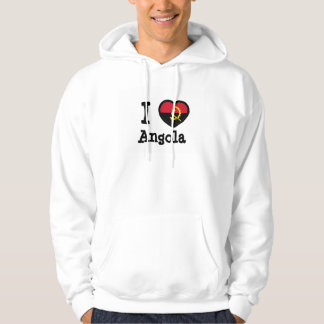 Angola Flag Hooded Pullover