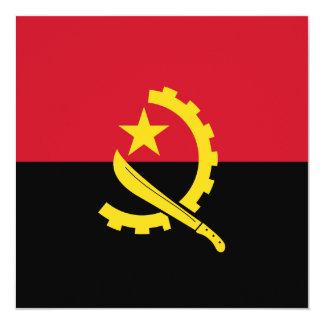 Angola Flag Invitation