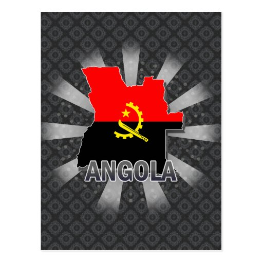Angola Flag Vertical