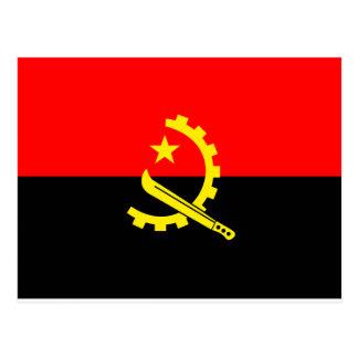 Angola Flag Postcards