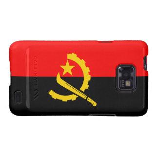 Angola Flag Set Galaxy SII Cases