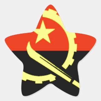 Angola flag stickers