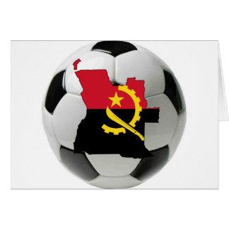 Angola football soccer card