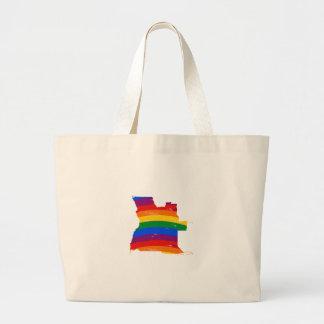 ANGOLA GAY PRIDE CANVAS BAGS