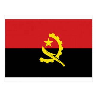 Angola National Flag Postcard