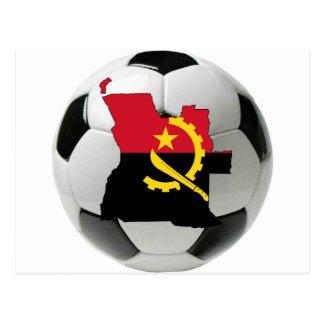 Angola national team postcard