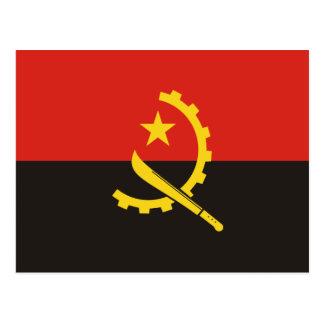 Angola National World Flag Postcard