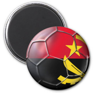 Angolan ball Black Antelopes soccer gear 2 Inch Round Magnet