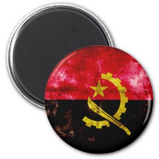 Angolan Flag 2 Inch Round Magnet