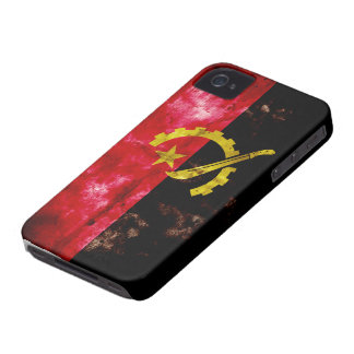 Angolan Flag iPhone 4 Case-Mate Case