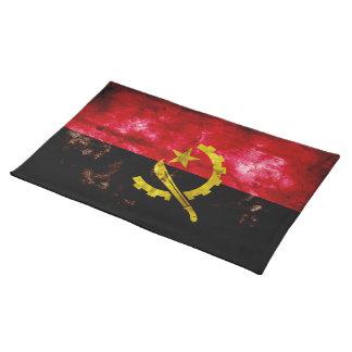 Angolan Flag Cloth Placemat
