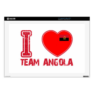 angolan team sports designs skin for laptop