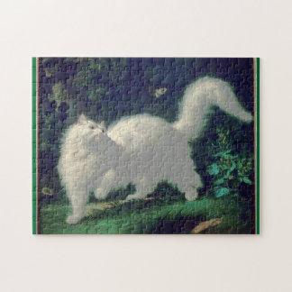 Angora cat puzzle