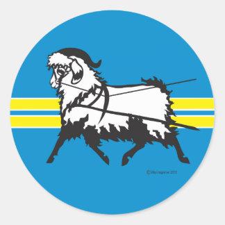 Angora Goat Sticker