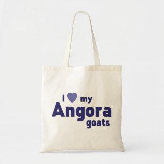 Angora goats budget tote bag