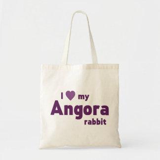 Angora rabbit bags