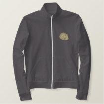 Angora Rabbit Embroidered Jacket