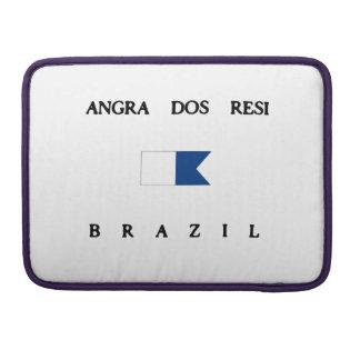 Angra Dos Resi Brazil Alpha Dive Flag Sleeve For MacBook Pro