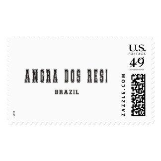Angra Dos Resi Brazil Stamps