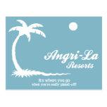 Angri-La Postcard