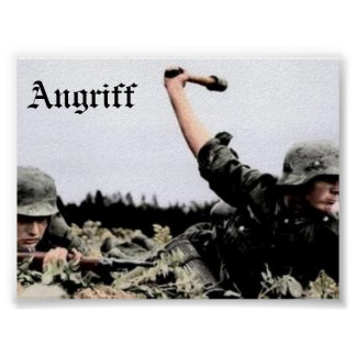 Angriff Póster